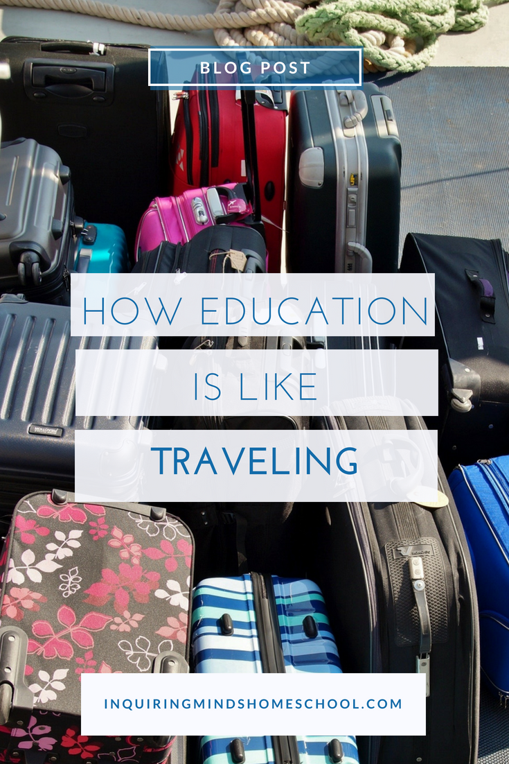How Education is Like Traveling