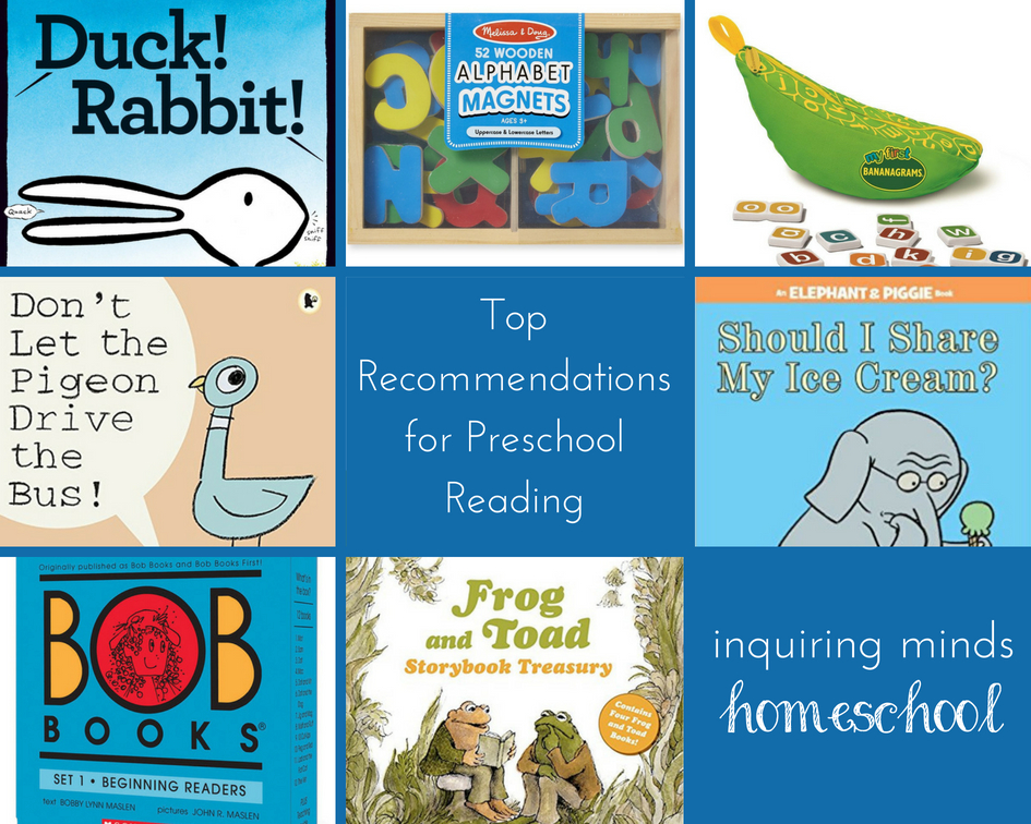 Homeschool Reading Recommendations