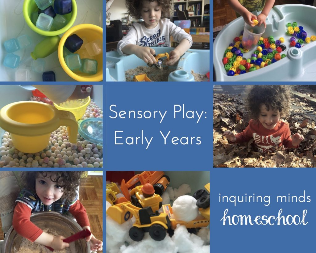 Sensory Play: Early Years