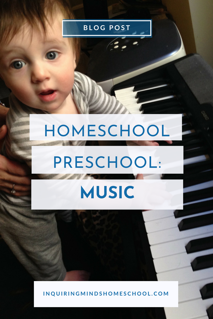 Homeschool Preschool Music
