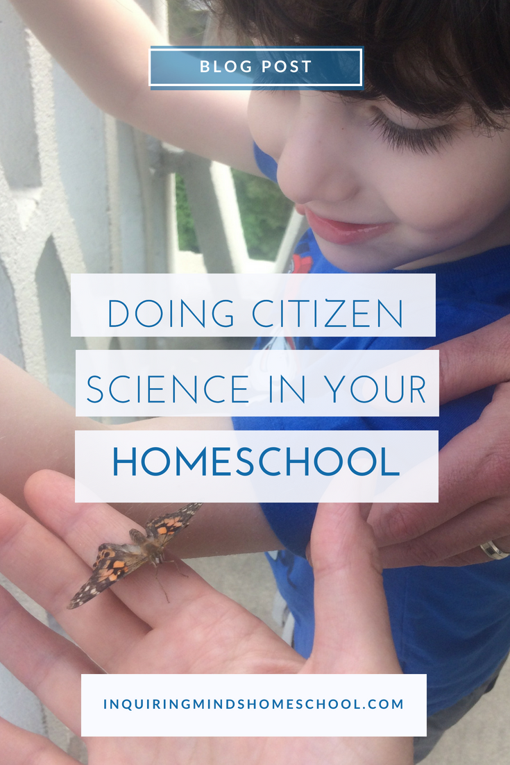 Citizen Science in your Homeschool