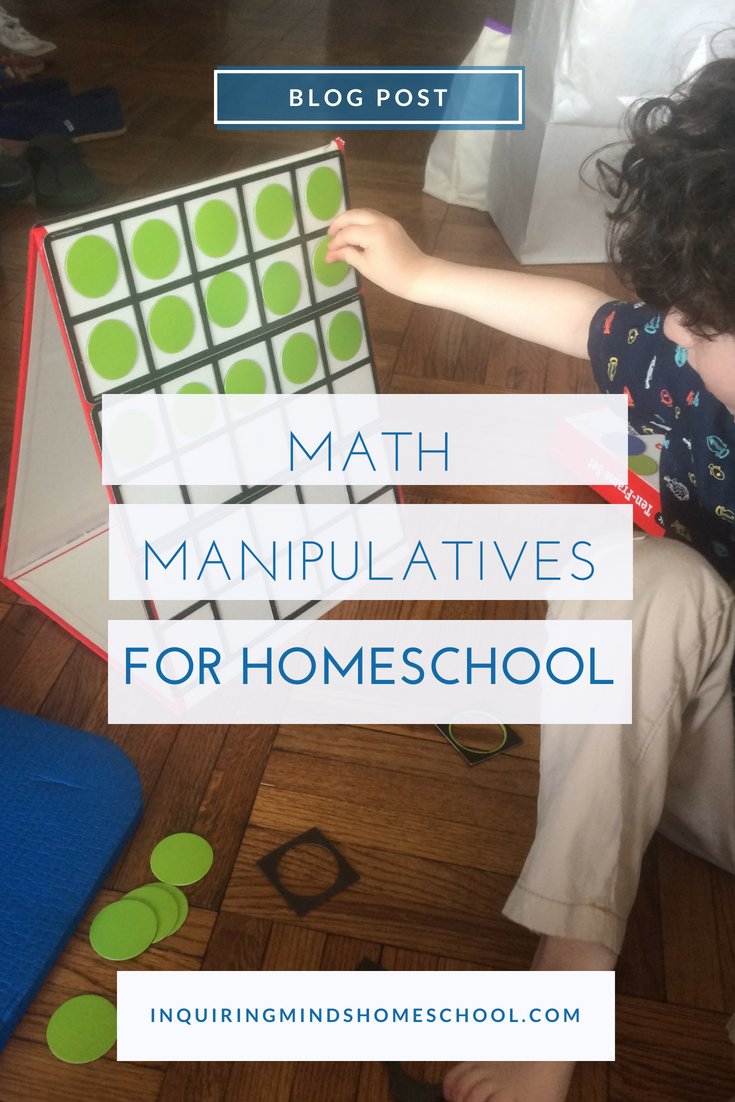 Math Manipulatives for Homeschool