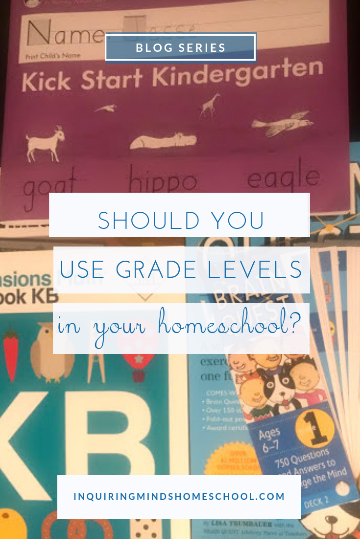 Should you use grade levels?