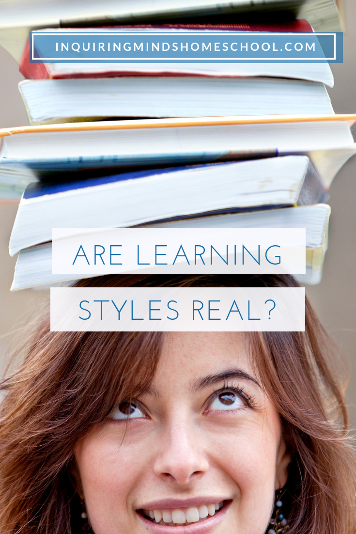 Are learning styles real?